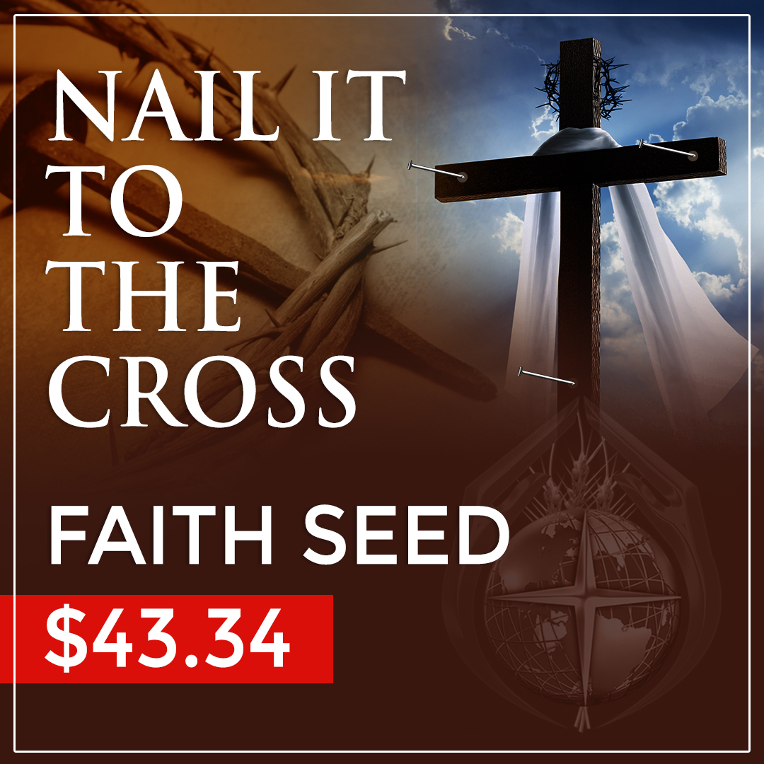 NAIL IT TO THE CROSS faith seed $43.34 » Clarence E. McClendon ...