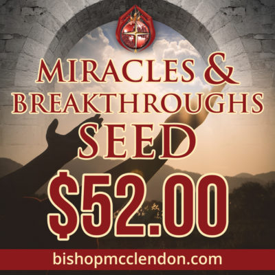 MIRACLES & BREAKTHROUGH SEED