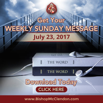 GET YOUR WEEKLY SUNDAY MSG