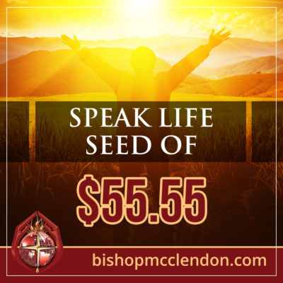 SPEAK LIFE SEED OF $55-55