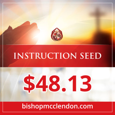 INSTRUCTION SEED