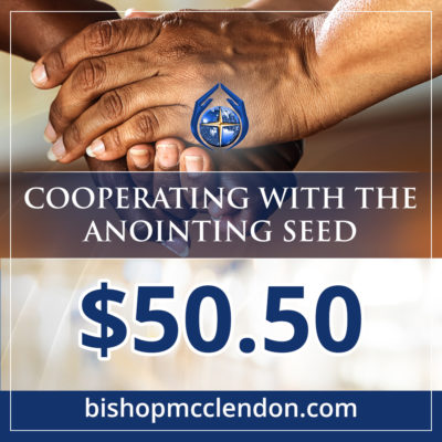 Cooperating with the anointing seed